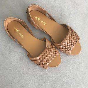 ASOS JUNA Leather Summer Shoe